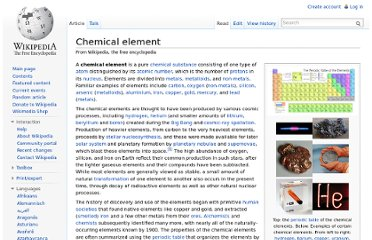 http://en.wikipedia.org/wiki/Chemical_element