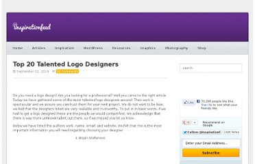http://inspirationfeed.com/inspiration/top-20-talented-logo-designers/