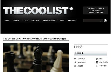 http://www.thecoolist.com/grid-designs-10-amazing-grid-style-website-designs/