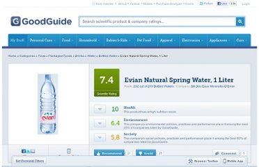 http://www.goodguide.com/products/301502-evian-natural-spring-water