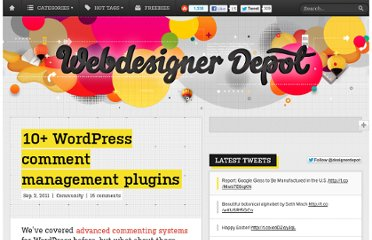 http://www.webdesignerdepot.com/2011/09/10-wordpress-comment-management-plugins/