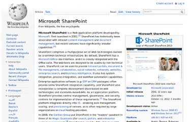 http://en.wikipedia.org/wiki/Microsoft_SharePoint#Windows_SharePoint_Services