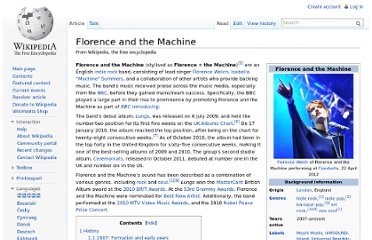 http://en.wikipedia.org/wiki/Florence_and_the_Machine