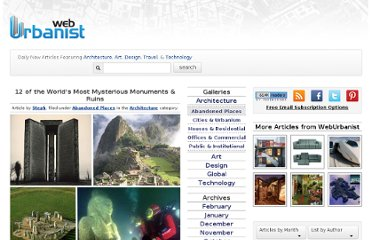 http://weburbanist.com/2009/05/12/12-of-the-worlds-most-mysterious-monuments-ruins/