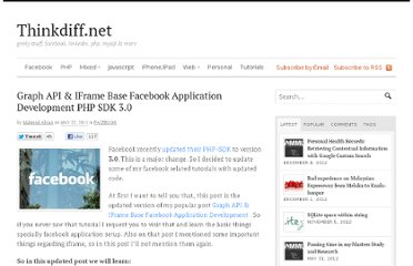 http://thinkdiff.net/facebook/graph-api-iframe-base-facebook-application-development-php-sdk-3-0/