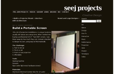 http://www.seej.net/create/2008/05/12/build-a-portable-screen/