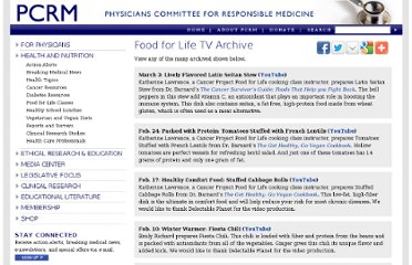 http://pcrm.org/health/diabetes-resources/food-for-life-tv-archive