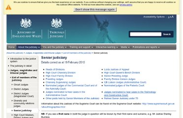 http://www.judiciary.gov.uk/about-the-judiciary/judges-magistrates-and-tribunal-judges/list-of-members-of-the-judiciary/senior-judiciary-list