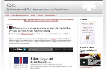 http://cocreation.blogs.com/alban/2011/09/lislande-continue-%C3%A0-co-produire-sa-nouvelle-constitution-avec-ses-citoyens-egov-crowdsourcing.html