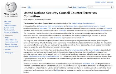 http://en.wikipedia.org/wiki/United_Nations_Security_Council_Counter-Terrorism_Committee