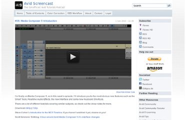 http://avidscreencast.com/2010/07/35-media-composer-5-introduction/