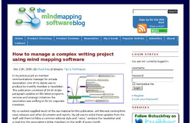 http://mindmappingsoftwareblog.com/manage-a-complex-writing-project-using-mind-mapping-software/