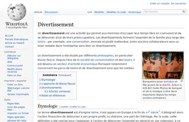 http://fr.wikipedia.org/wiki/Divertissement
