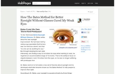 http://sue-adams.hubpages.com/hub/bates-method-for-better-eyesight-without-glasses