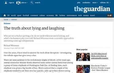 http://www.guardian.co.uk/science/2007/apr/21/weekendmagazine
