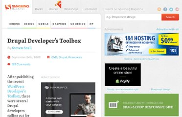 http://coding.smashingmagazine.com/2008/09/24/drupal-developers-toolbox/
