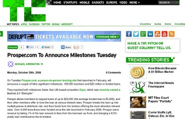 http://techcrunch.com/2006/10/30/prospercom-to-announce-milestones-tuesday/