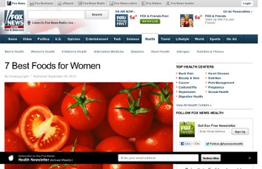 http://www.foxnews.com/health/2011/09/01/7-best-foods-for-women/