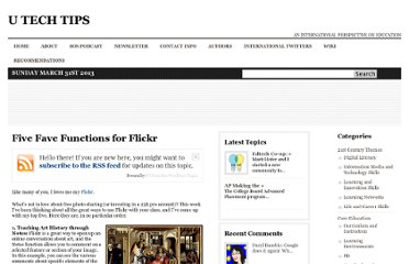 http://www.utechtips.com/2008/01/24/five-fave-functions-for-flickr/