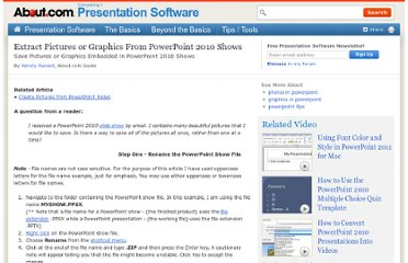 http://presentationsoft.about.com/od/powerpoint-2010-tips/qt/101204-extract-pictures-from-powerpoint-2010.htm