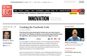 http://www.thedailybeast.com/articles/2010/10/18/the-facebook-news-feed-how-it-works-the-10-biggest-secrets.html