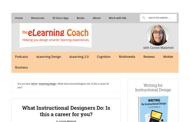 http://theelearningcoach.com/elearning_design/is-this-instructional-design/