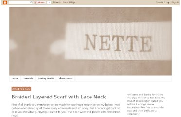 http://nettevivante.blogspot.com/2011/01/braided-layered-scarf-with-lace-neck.html