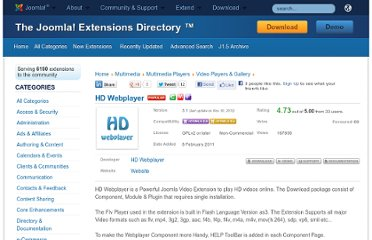 http://extensions.joomla.org/extensions/multimedia/multimedia-players/video-players-a-gallery/15664