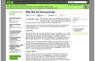 http://www.marketingvox.com/why-not-ad-retargeting-047770/