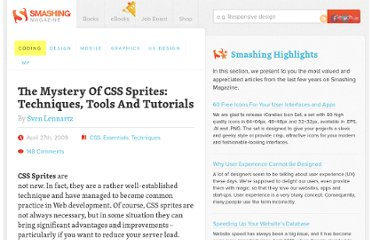 http://coding.smashingmagazine.com/2009/04/27/the-mystery-of-css-sprites-techniques-tools-and-tutorials/