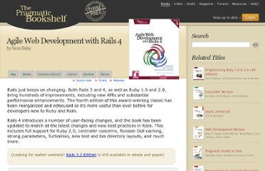 http://pragprog.com/book/rails4/agile-web-development-with-rails