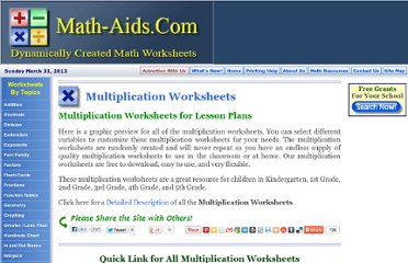 http://www.math-aids.com/Multiplication/