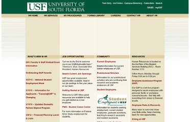 http://usfweb2.usf.edu/human-resources/