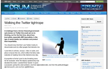 http://www.abc.net.au/news/2010-09-30/walking-the-twitter-tightrope/2279190
