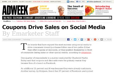 http://www.adweek.com/news/technology/coupons-drive-sales-social-media-102541