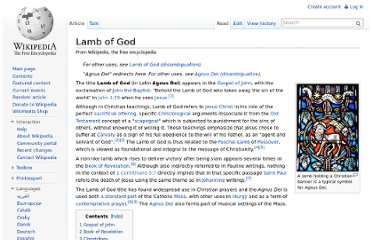 http://en.wikipedia.org/wiki/Lamb_of_God