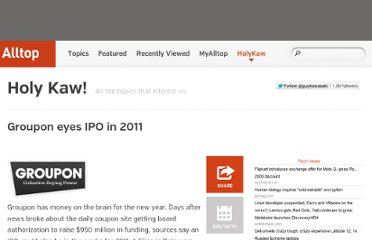 http://holykaw.alltop.com/groupon-eyes-ipo-in-2011