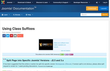 http://docs.joomla.org/Using_Class_Suffixes