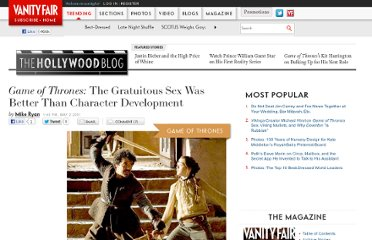 http://www.vanityfair.com/online/oscars/2011/05/game-of-thrones-the-gratuitous-sex-was-better-than-character-development