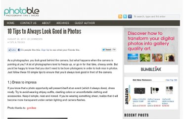 http://www.photoble.com/photography-tips-tricks/10-tips-to-always-look-good-in-photos