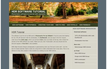 http://www.hdrsoftwaretutorial.co.uk/hdr-tutorial/