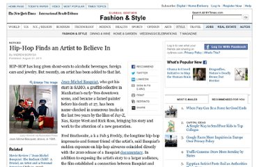 http://www.nytimes.com/2011/09/01/fashion/jean-michel-basquiat-an-artist-the-hip-hop-world-can-believe-in.html?_r=4