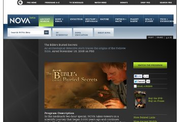 http://www.pbs.org/wgbh/nova/ancient/bibles-buried-secrets.html