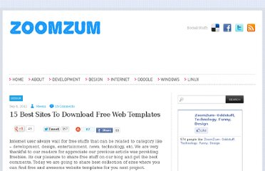 http://zoomzum.com/15-best-sites-to-download-free-web-templates/