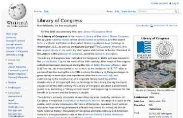 http://en.wikipedia.org/wiki/Library_of_Congress