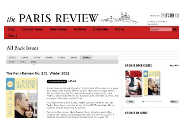 http://www.theparisreview.org/back-issues