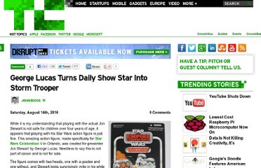 http://techcrunch.com/2010/08/14/george-lucas-turns-daily-show-star-into-storm-trooper/