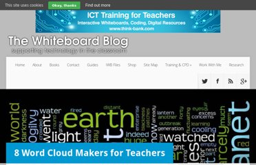 http://www.whiteboardblog.co.uk/2011/09/8-word-cloud-makers-for-teachers/