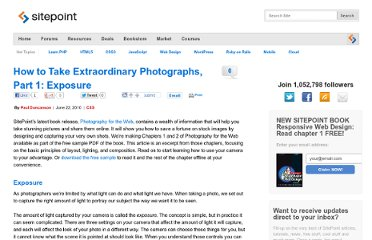 http://www.sitepoint.com/photography-for-the-web-exposure/