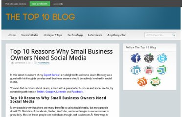 http://www.thetop10blog.com/top-10-reasons-why-small-business-owners-need-social-media/